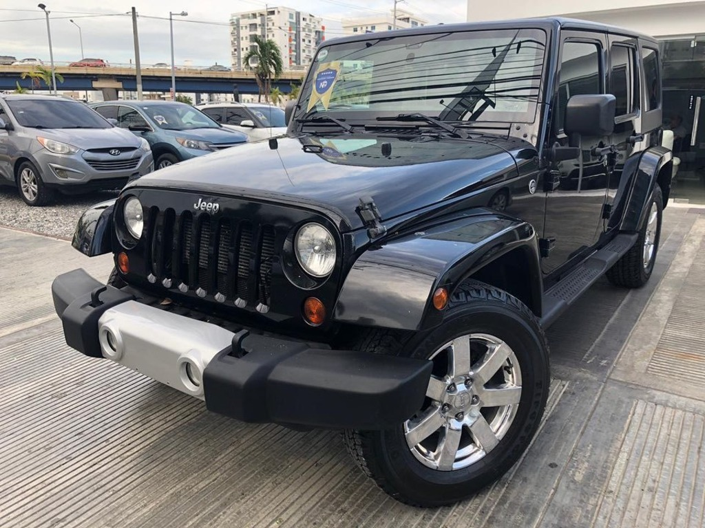 Jeep Wrangler Sahara Unlimited 2012 - 1