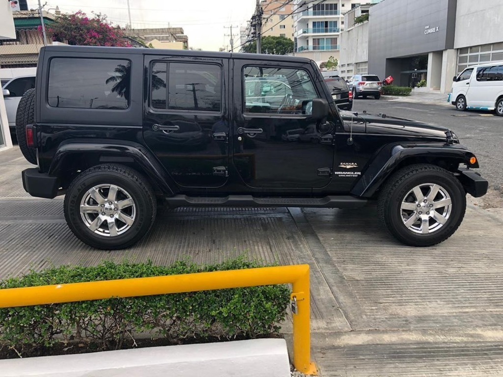 Jeep Wrangler Sahara Unlimited 2012 - 3